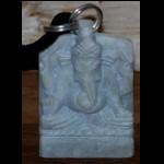 Buddha Ganesha Speckstein Kette