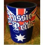 Cooler Stubby Flagge Aussie  Mundstück