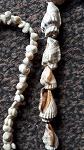 2x Halsketten aus echte Südseemuscheln