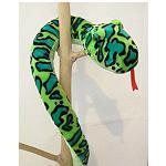 grüne Schlange Stofftier SKA ca 2m