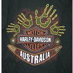 T Shirt Original Harley Australia Gr S