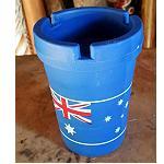 Aschenbecher mit Aussie Flag