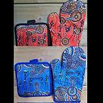 Topflappen Handschuh Aborigines-Malerei