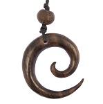 Halskette Maori Sono Holz Tribal 4 cm