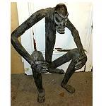 Asmat Schutzgeist gegen böse Geister 100cm