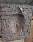 3 D Relief Buddha Kopf  24cm