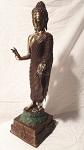 Buddha stehend Bronze 38 cm