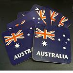 Untersetzer Coaster Flagge Fahne 6er Set
