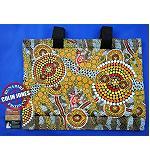 Strandltasche Aborigines Malerei 40cm