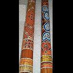 Didgeridoo Teakholz 1,30cm  beste Qualität