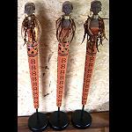 1x  Afrikanische edle Frau  40 cm