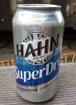 Hahn Premium super dry Bier 0,375l