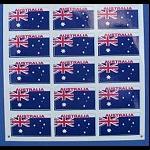 Aufkleber Flagge Australien 15 kleine 3cm