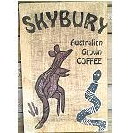 Australien Coffee Bag Aborigines Malerei