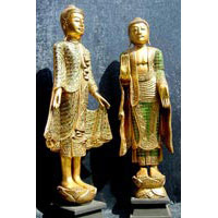 Buddha Thailand stehend 120 cm