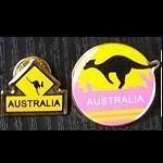 Pin Känguru Australia  1 Stück