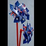 Windräder Windmill 6 Stück Set 25x11cm