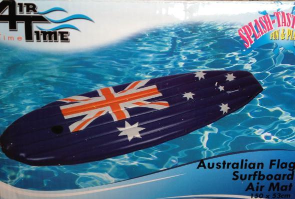 Surfbrett AUSTRALIA aufblasbar 150cm kaufen im australien