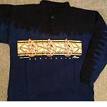 dickes Sweatshirt Stehkragen Churinga