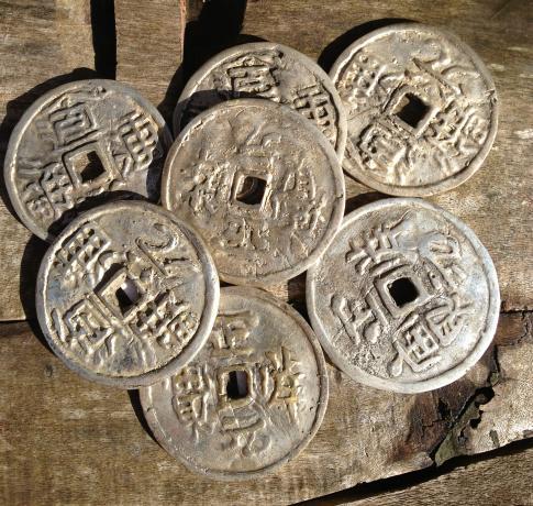 1 Alte Münze Aus China 55cm Q Kaufen Im Australien Versand Shop