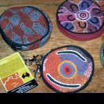 Geldbörse Täschchen mit Malerei 10cm