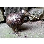 20x Kiwi bird bronze gold lenght 14cm