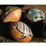Rassel Shaker Schüttel Ei aus Holz