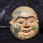 Buddha 4 Gesichter Bronze ca.  9 cm