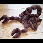 Scorpion Stofftier 25cm  nicht Giftig !!