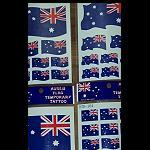 Haut Tattoo Bilder Flagge Australien