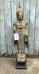 Buddha Thailand  105 cm türkis-gold