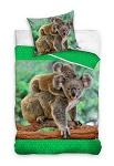 Bettwäsche Koala 135x200 Baumwolle