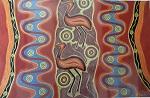 Poster Emu Abo Malerei 59x42cm
