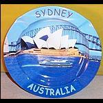 Metall Aschenbecher Sydney Oper