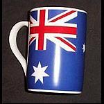 Kaffeebecher mit Australien Flagge