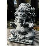 Elefant Ganesha Buddha stonelook 15cm