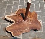 Didgeridoo Ständer Tamarindenholz 40cm