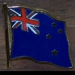 PIN Neuseeland New Zealand 2.Wahl