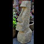 Osterinsel Figur Moai Stein 120cm