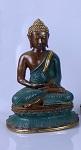 10 x bronze buddha sit on 25cm