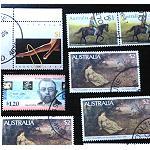 14 Briefmarken Set Australien
