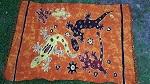 Sarong Tuch handgefertigt 110x150