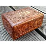 Holzkiste Kiste Schatztruhe 15x10cm