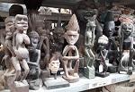 HartHolz Figur Asmat Afrika Aborigines 30c
