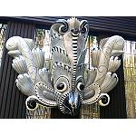 Maske Bali Vogel aus Holz  2.Wahl 45cm