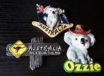 3er Set Magnete Australien