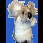 Koala Handpuppe 30 cm