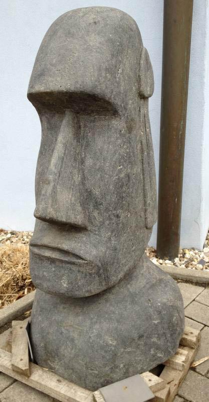 osterinsel moai figur echt stein 95cm kaufen im australien On osterinsel figuren garten