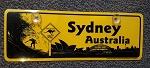 Nummernschild PVC Sydney Australia