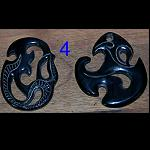 Maori Carving aus Horn - Hawk Hook